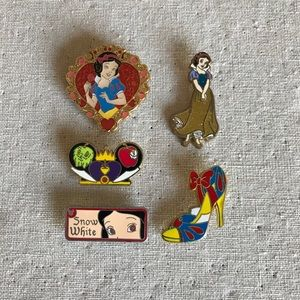 Disney Pin Bundle Snow White